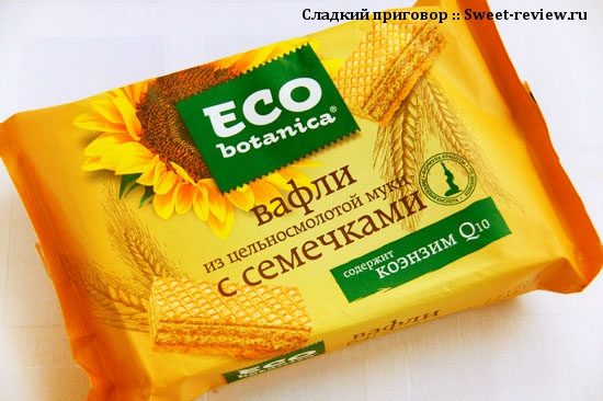 "Eco Botanica: печенье, вафли и зефир (фабрика ""Рот Фронт"", Москва)"