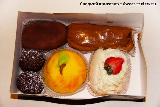 Пирожные из кондитерской г.Гавра (Франция)