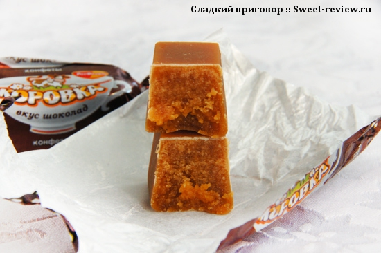 "Молочные конфеты ""Коровка"" (фабрика ""Рот Фронт"", Йошкар-Ола)"