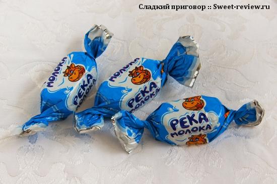 """Конфеты """"Река молока"""" (фабрика """"Глобус"""", Ульяновск)"""