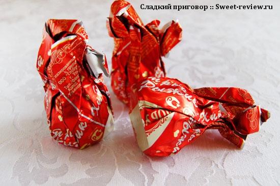"""Конфеты """"Хитрый Рыжик"""" (фабрика """"Глобус"""", Ульяновск)"""