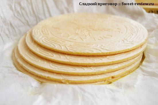 Карловарские оплатки (вафли)
